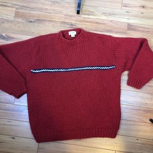 Men's JCrew vintage wool sweater size M